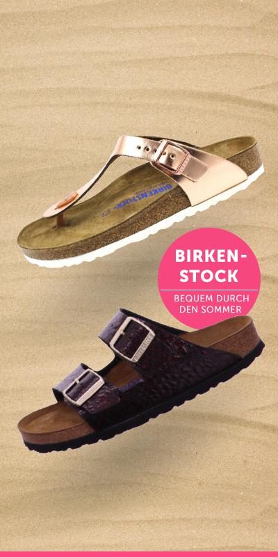 Super praktisch, stylisch und bequem. Schuhe von Birkenstock