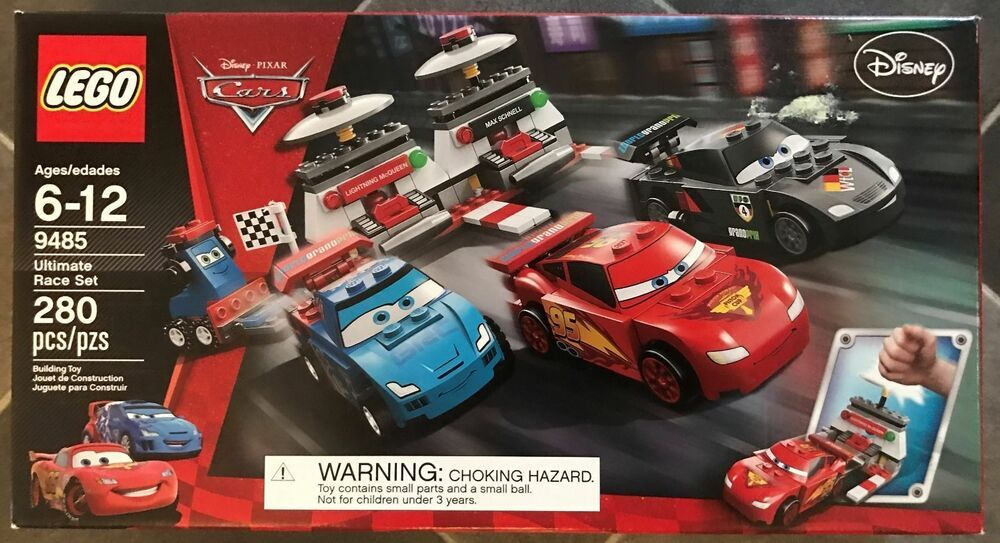 Details about Lego Disney Cars 9485 Ultimate Race Set NEW