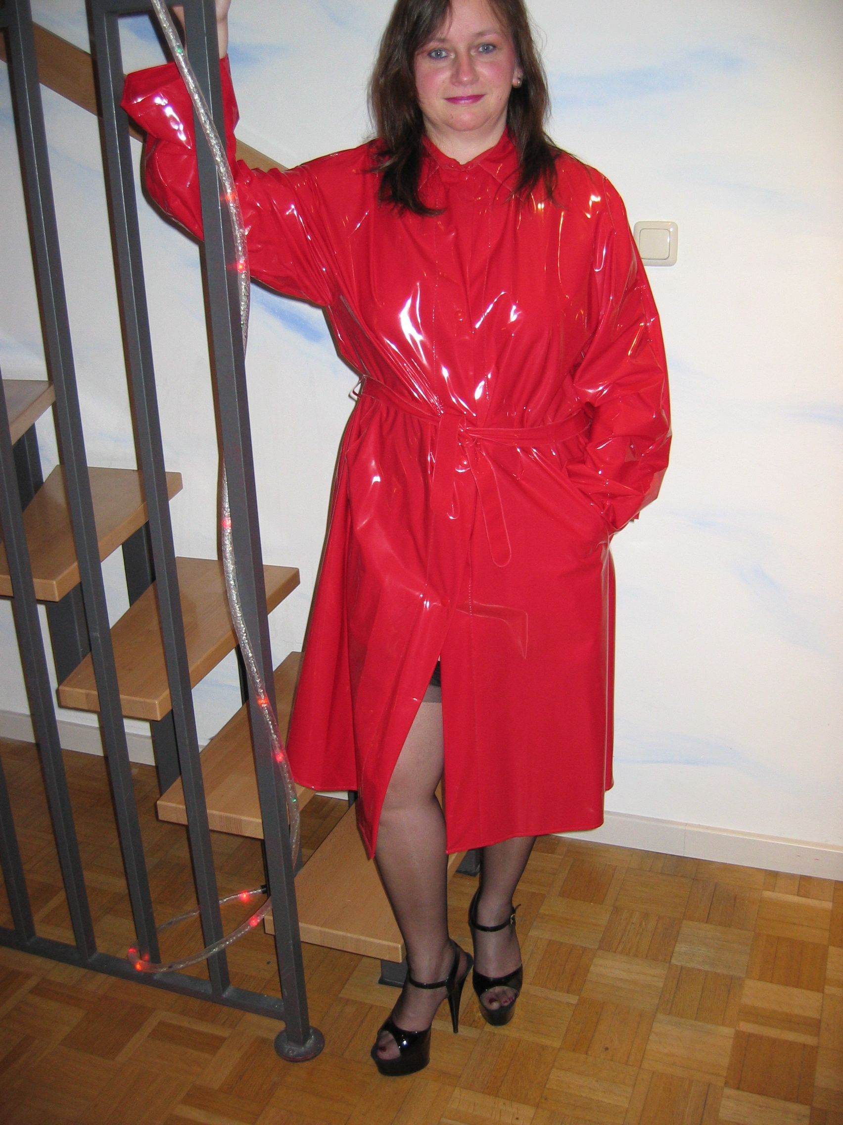 Pin on Real Amateurs wearing PVC, Lack, Latex clothing
