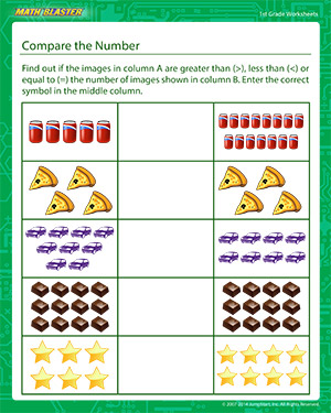comparing number of objects Google Search Comparing