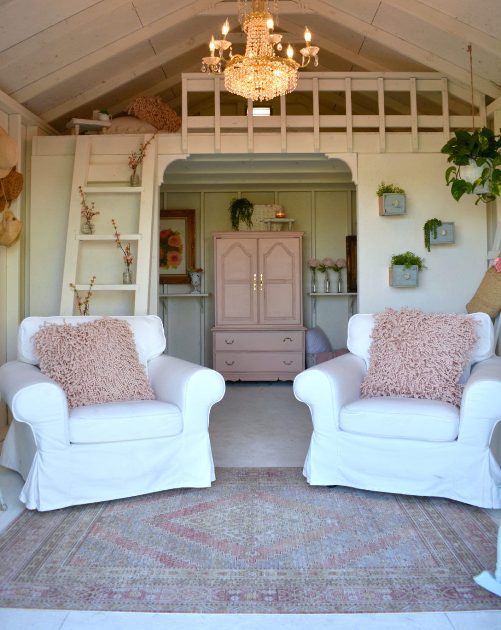 She Shed Inspiration 12 Dreamy Spaces Susan Said What Shed Interior Shed With Loft Shed Homes