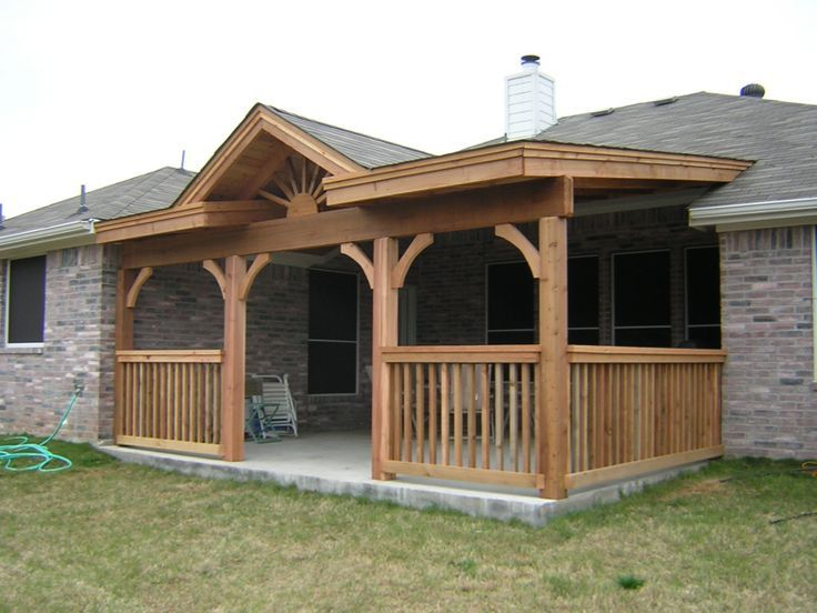 Backyard covered patios and decks covered deck and patio for Covered back porch designs