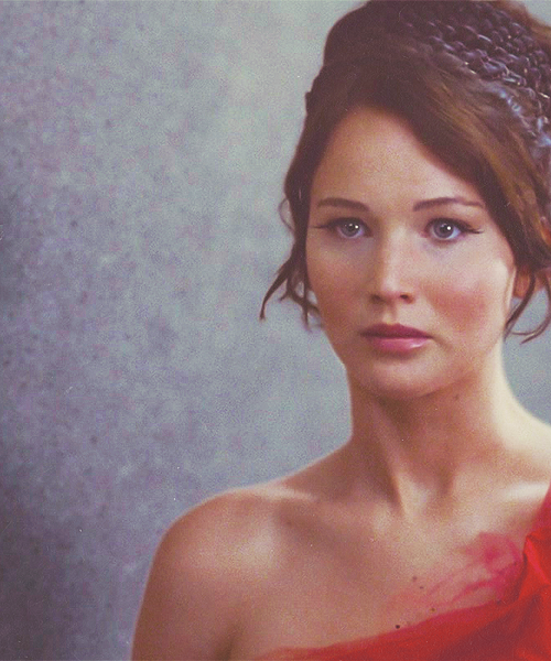 Katniss Everdeen, the girl on fire!