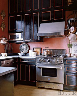 An Easy Coats Of Paint High Gl Black And Copper In The Details Cabinet Voila Steampunk Cabinets