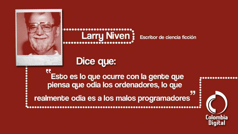 Una interesante reflexión de Larry Nieven.
