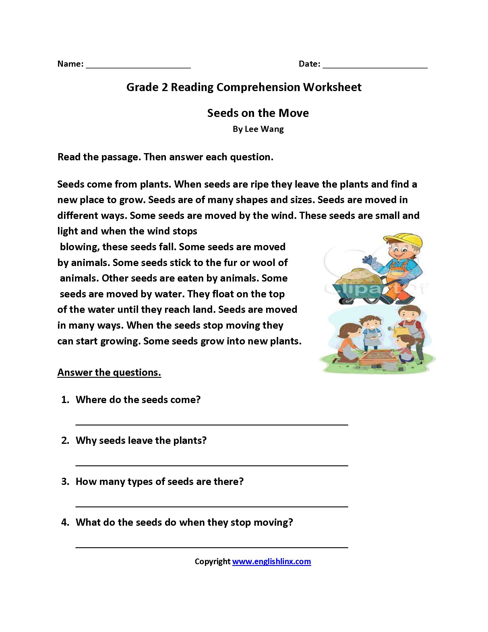 Cold War Reading Comprehension Worksheet 2nd Grade   Printable Worksheets  and Activities for Teachers [ 2200 x 1700 Pixel ]