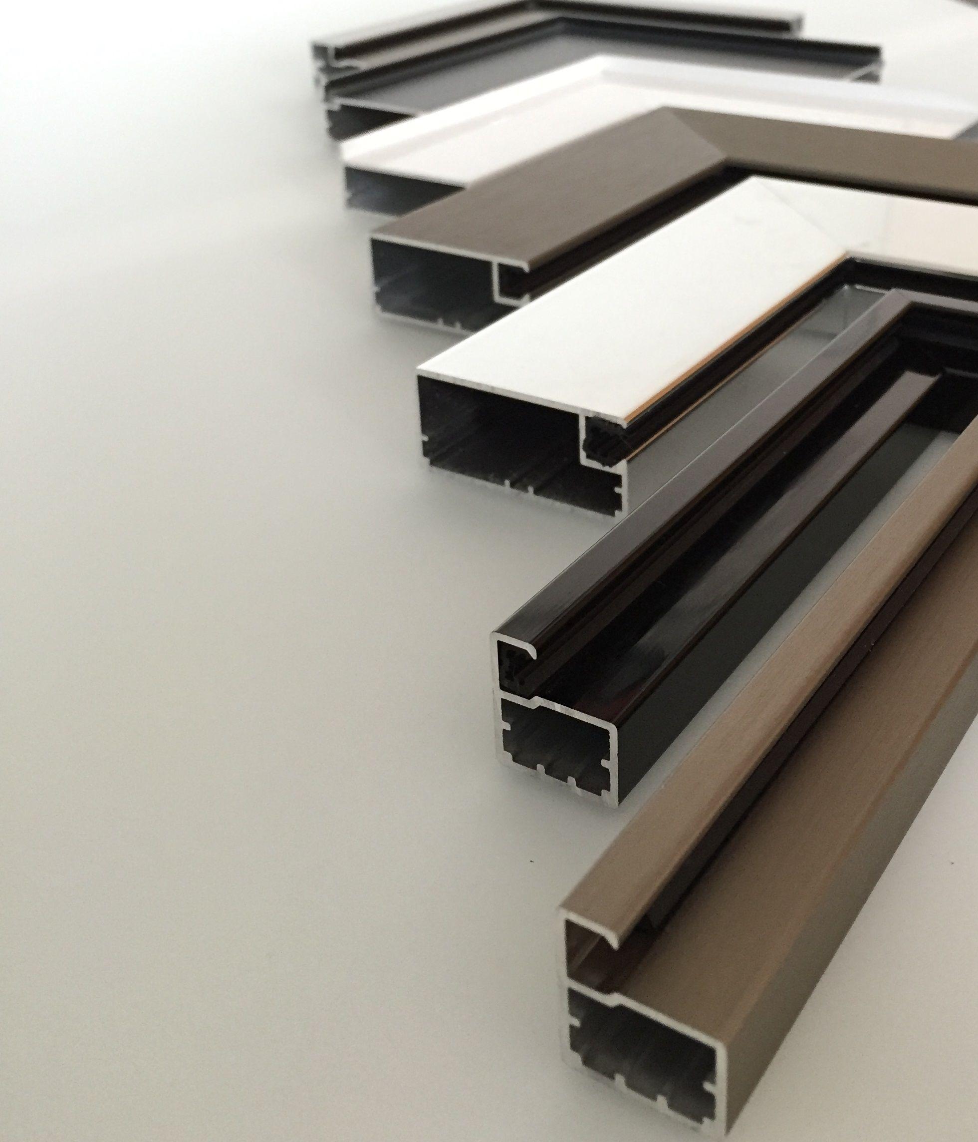 Aluminum frame corner samples aluminium windows and