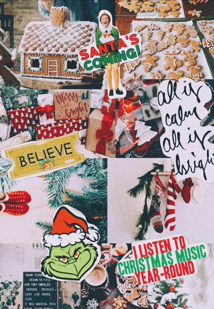 Tumblr Christmas Aesthetic Wallpaper Cartoon - Get Images