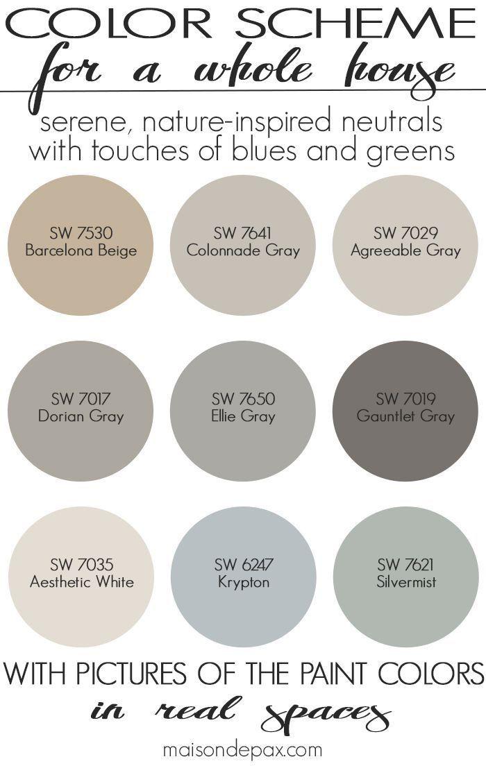 Colonial Neutral Paint Color Options Maisondepax
