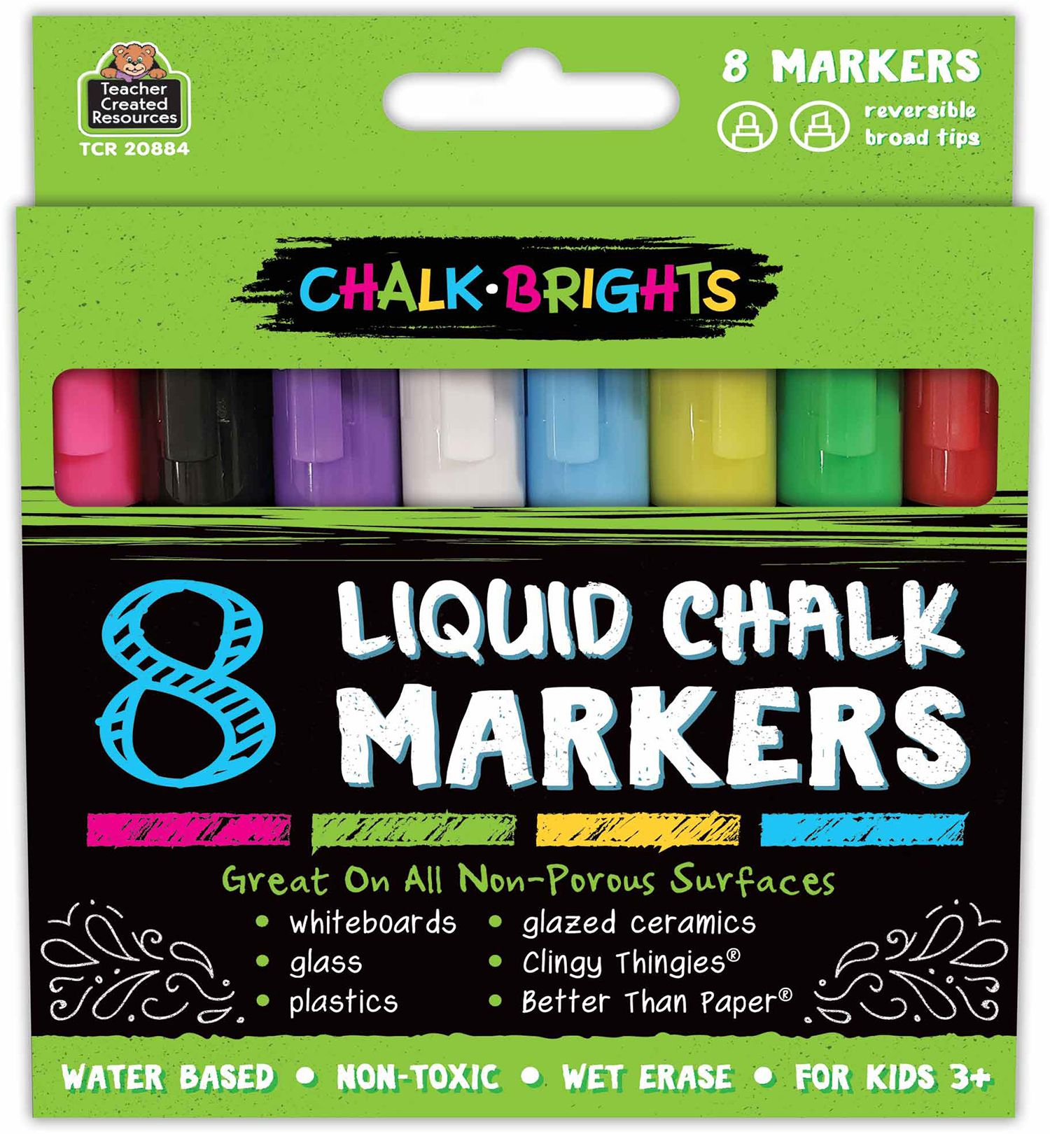 Chalk Brights Liquid Chalk Markers With Images Liquid Chalk