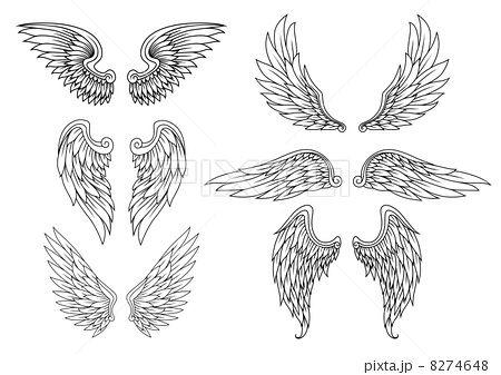 翼 イラスト Google 検索 タトゥー 翼 イラスト タトゥーの