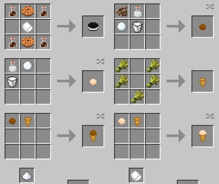 Food Recipes Xl Food Mod Add More Foods For Minecraft 9 99 9 90