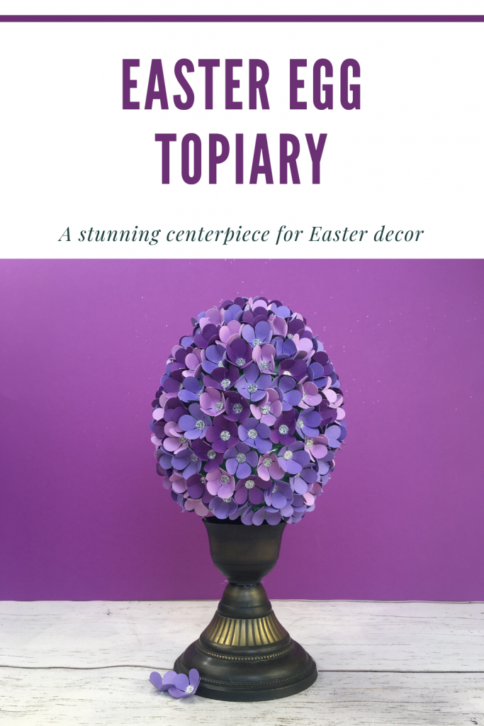 Turn Empty Kinder Surprise Egg Into A Stunning Easter Egg Topiary In 2020 Easter Eggs Kinder Surprise Eggs Easter Egg Projects