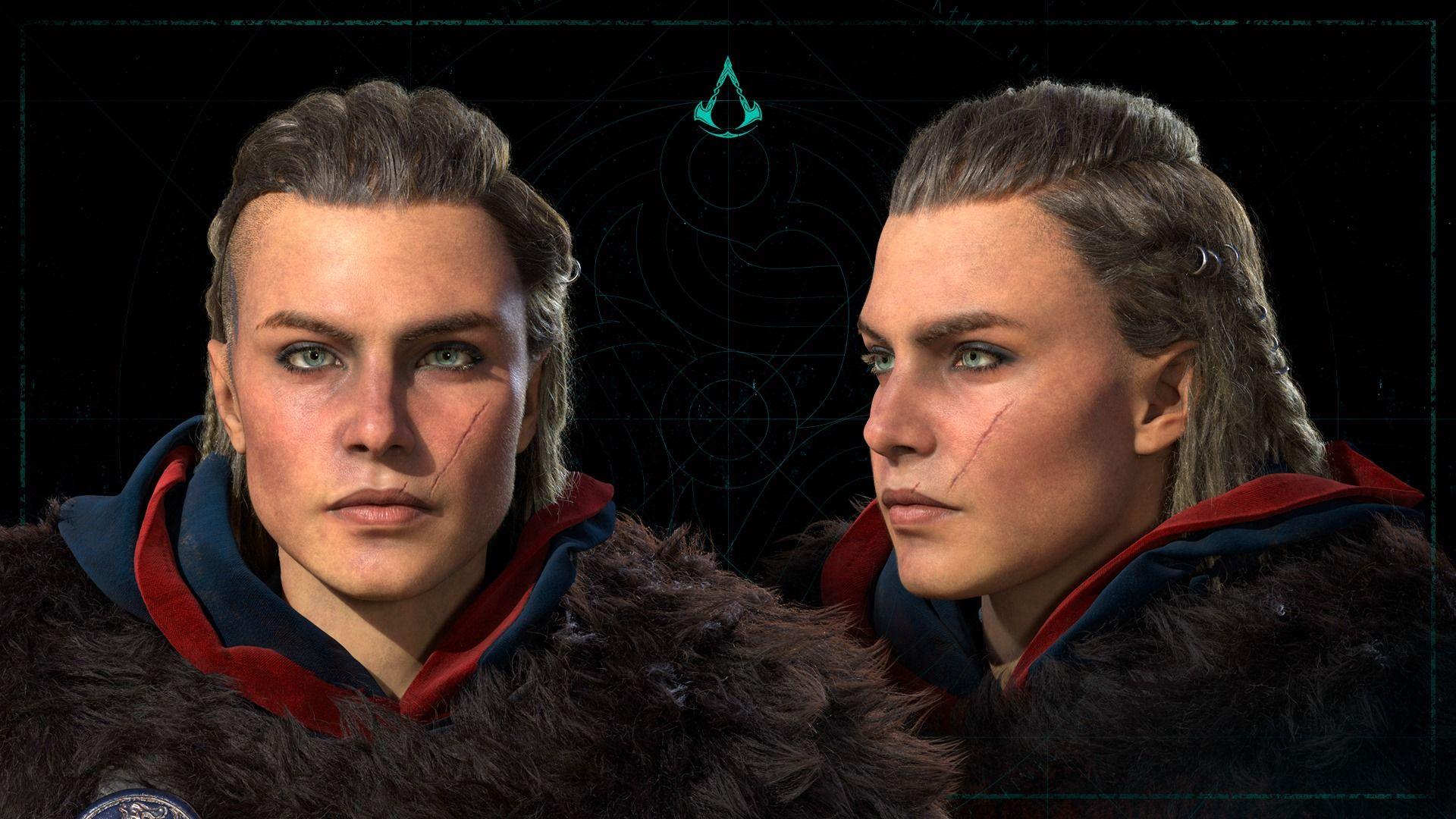 AC Valhalla, female Eivor in 2020 Assassins creed female