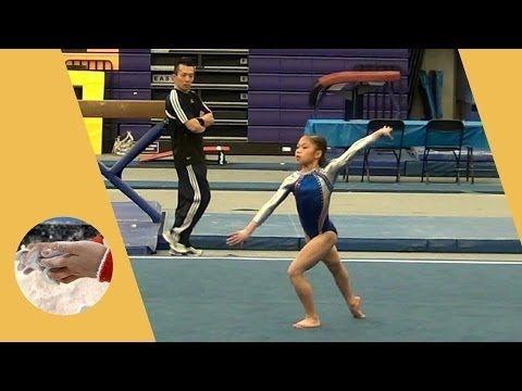 Kaitlyn Lam - Level 7 Gymnastics Floor Routine 9.700 - State ...