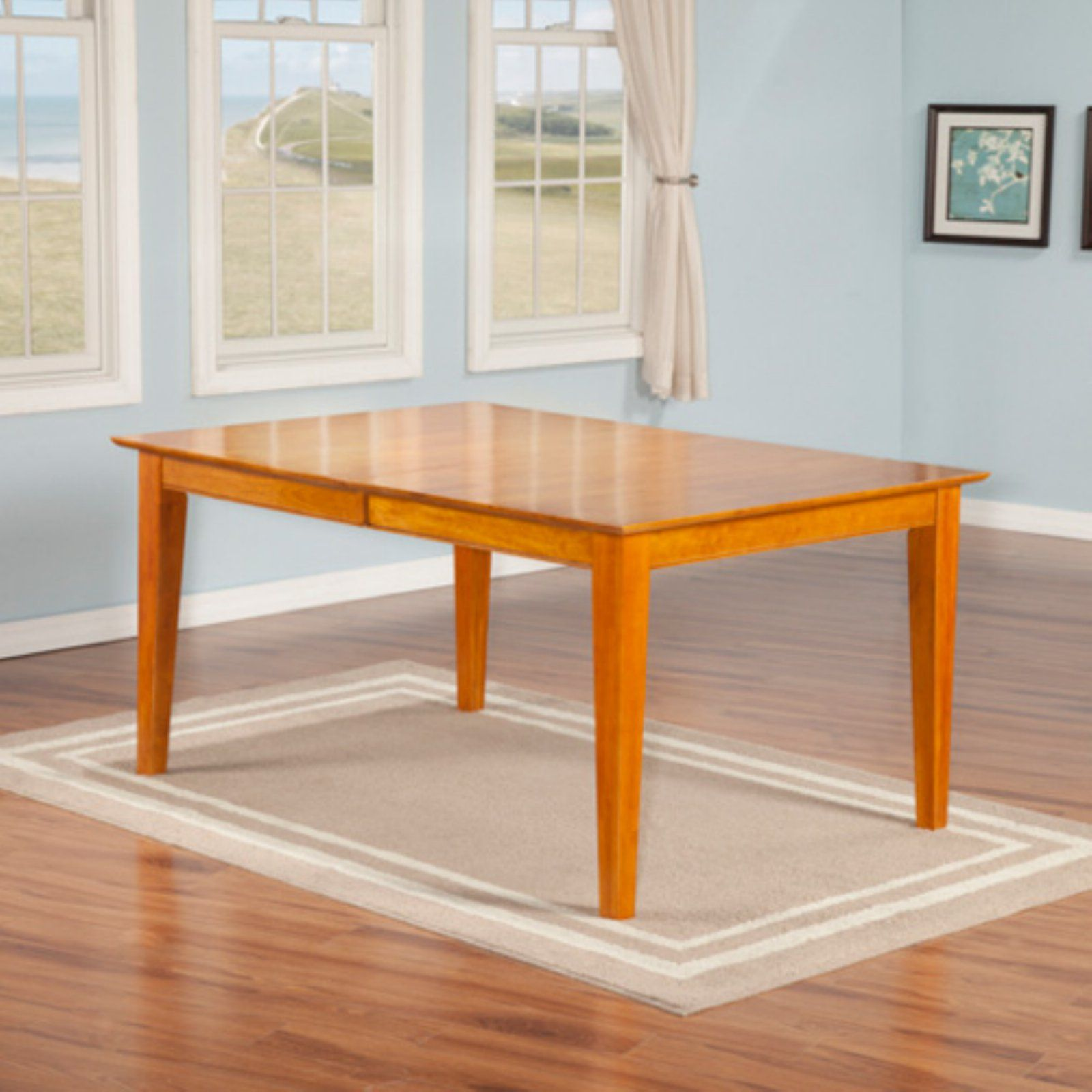 Atlantic Furniture Montreal Rectangle Dining Table Products In