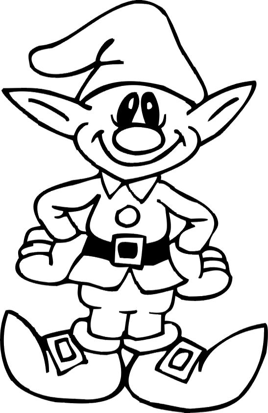free christmas elf coloring pages printable for kidsfree online activities worksheets christmas elf coloring pages printable for preschool - Christmas Coloring Pages Printable
