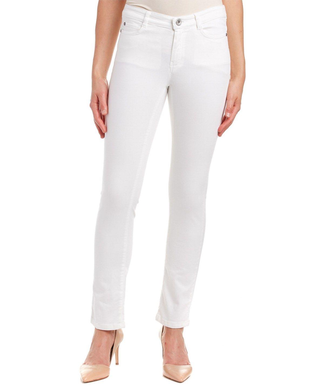 MAX MARA Max Mara Weekend Adorni White Slim Fit'. #maxmara #cloth #pants