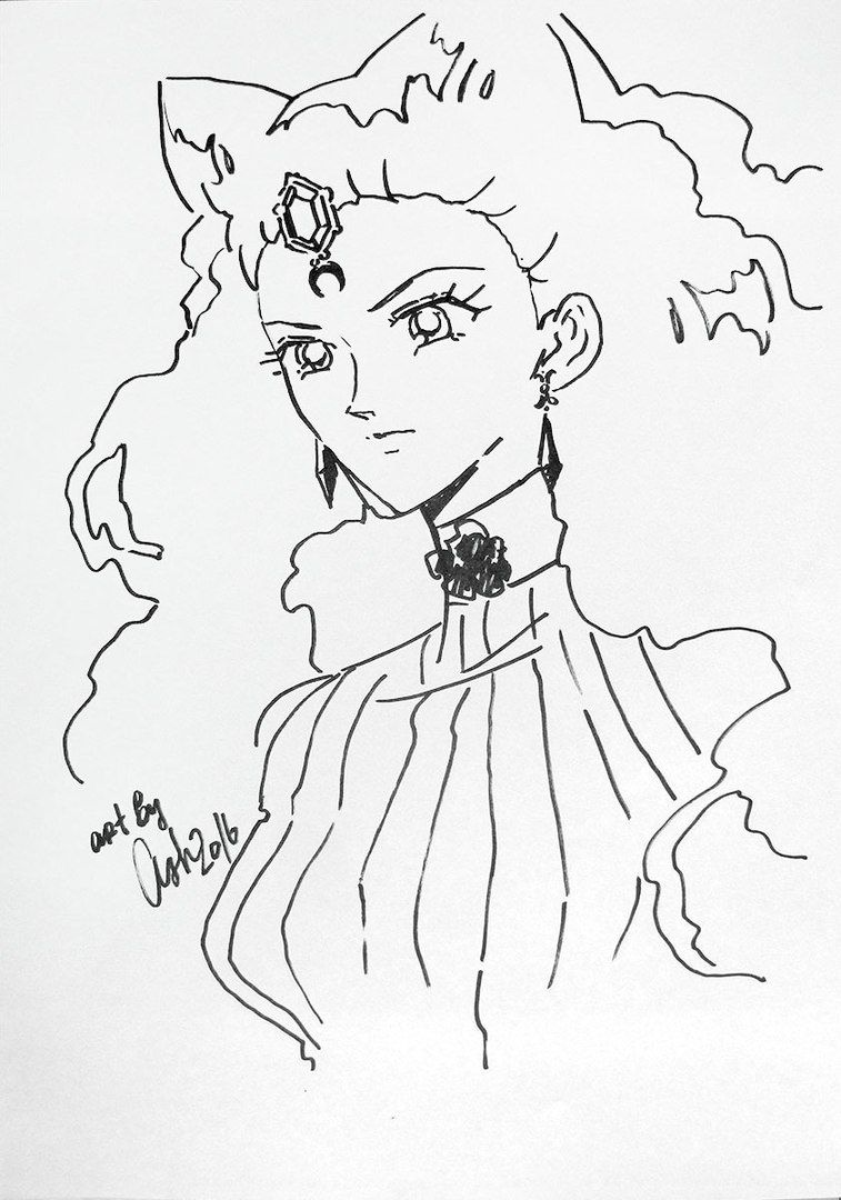 By Ash Anime Art Vk Sailor Moon