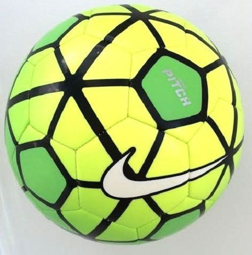 Nike PITCH Strike Sports Football Soccer Ball SC2790 Size 5 Volt/Green 2015  New