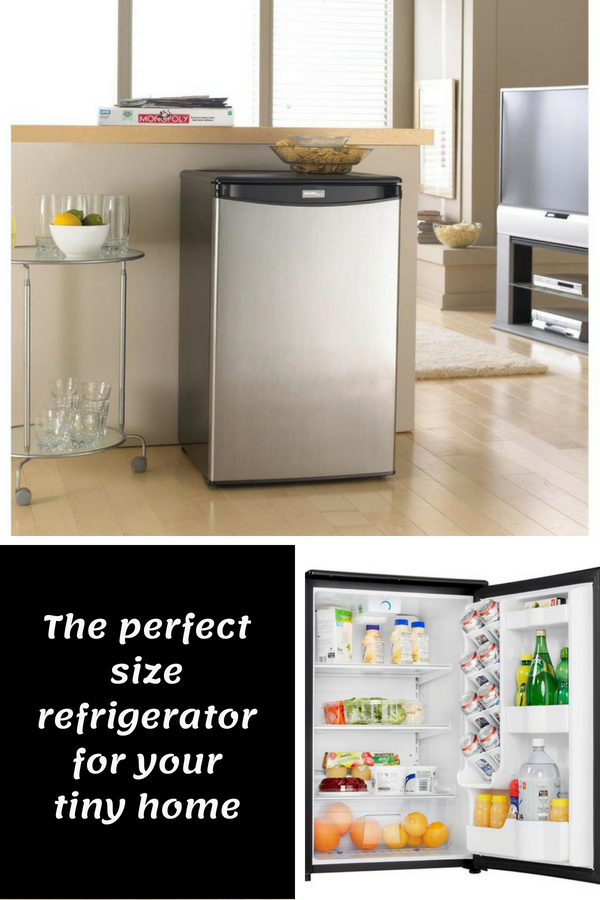 This 4 4 Cubic Foot Refrigerator Without Freezer Is Perfect For A Tiny Home Also Dorm Room Man Cave Or All Refrigerator Refrigerator Without Freezer Home