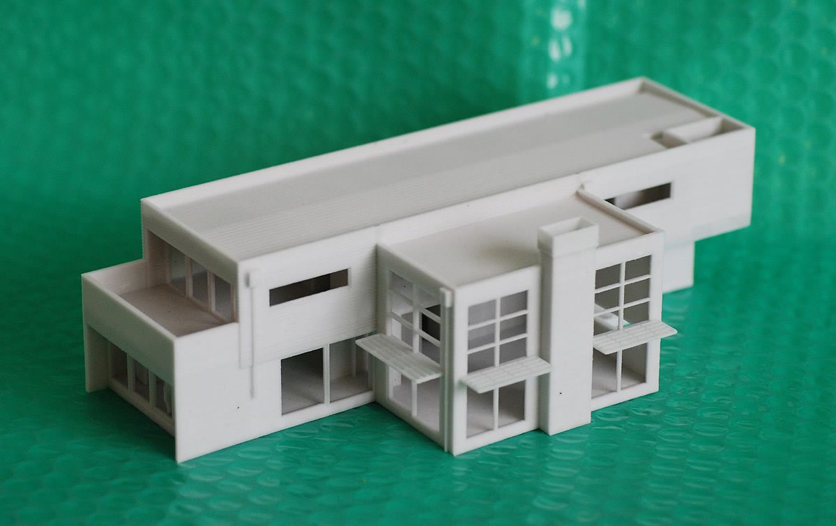 Artsvis515s representing architecture 3d printed house for 3d house model