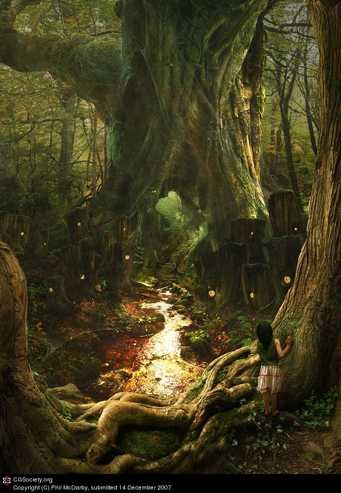 #fantasy The enchanted forest