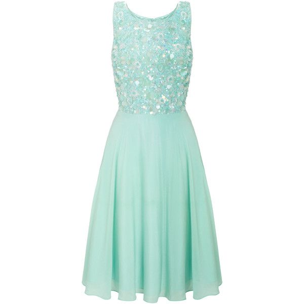 Monsoon Taylor Prom Dress ($262) ❤ liked on Polyvore featuring ...