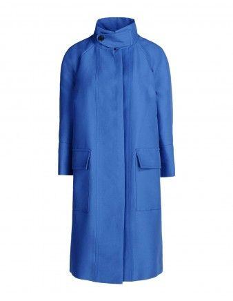 Marni Blue Cotton Coat