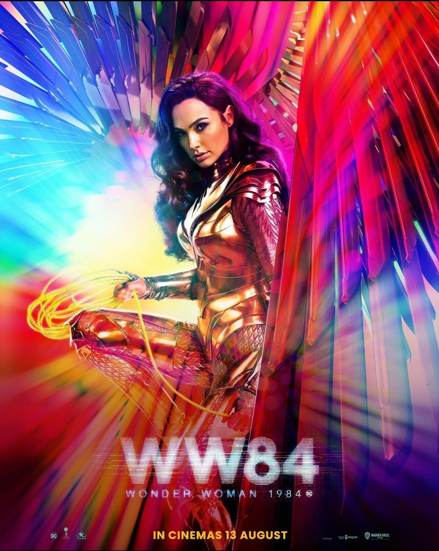 Wonder Woman Has Moved To August 13 2020 In 2020 Wonder Woman New Poster 1984 Movie