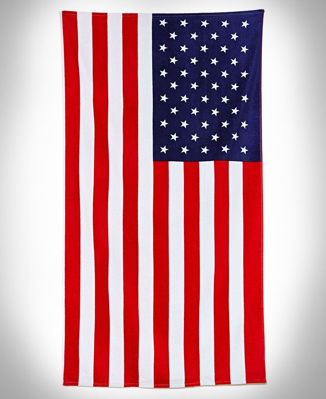 Personalized Beach Towels Patriotic Stars 44 95 Great Gift For