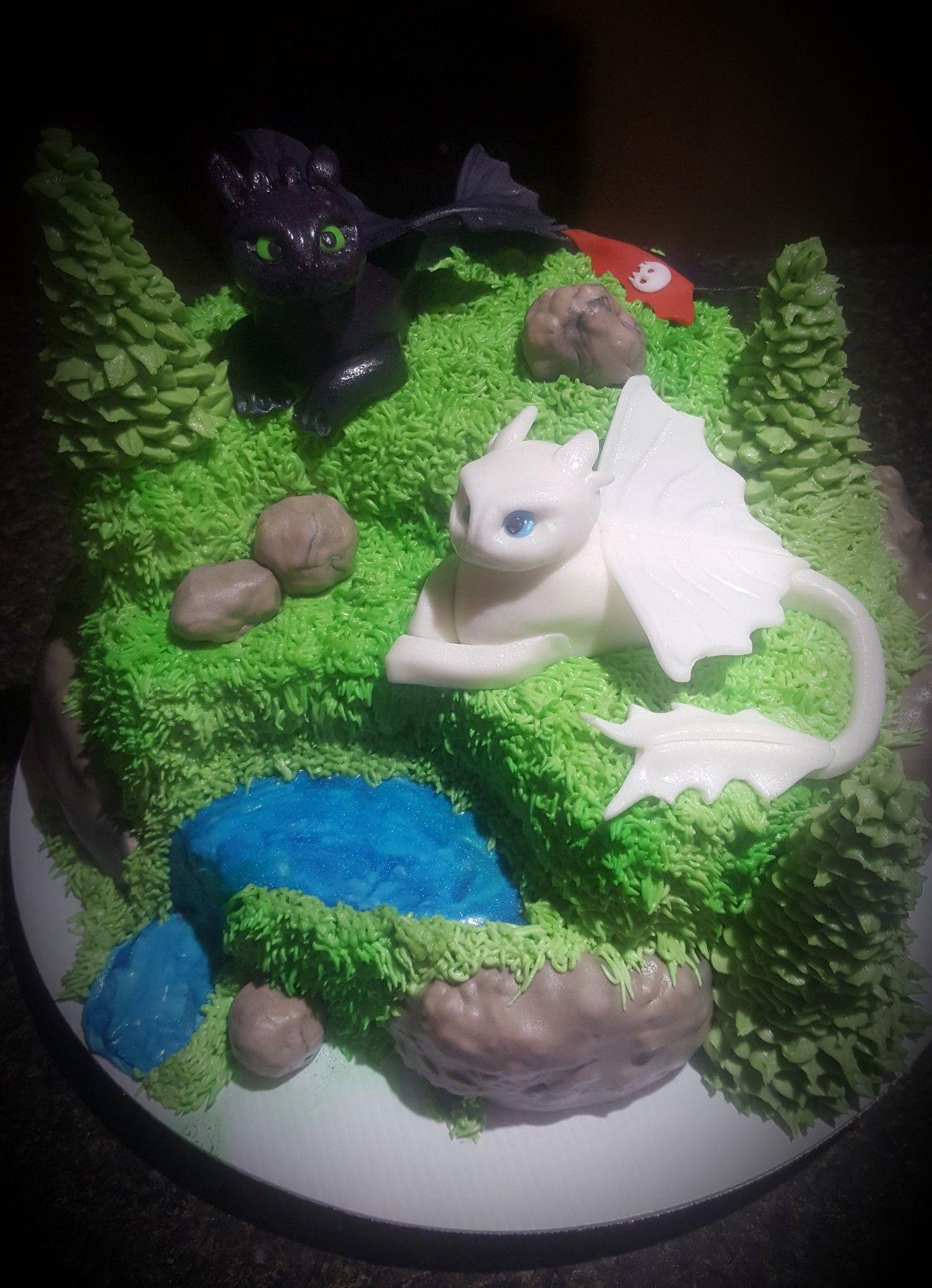 How To Train Your Dragon 3 Cake Dragon Birthday Cakes Dragon