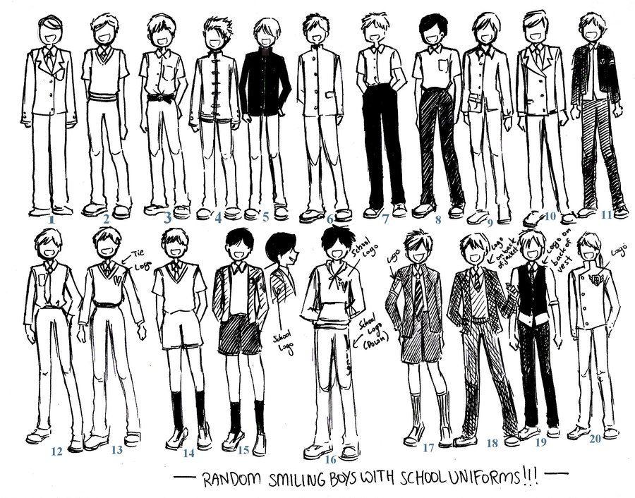 Boys Uniforms 01 By Neongenesisevarei Deviantart Com On