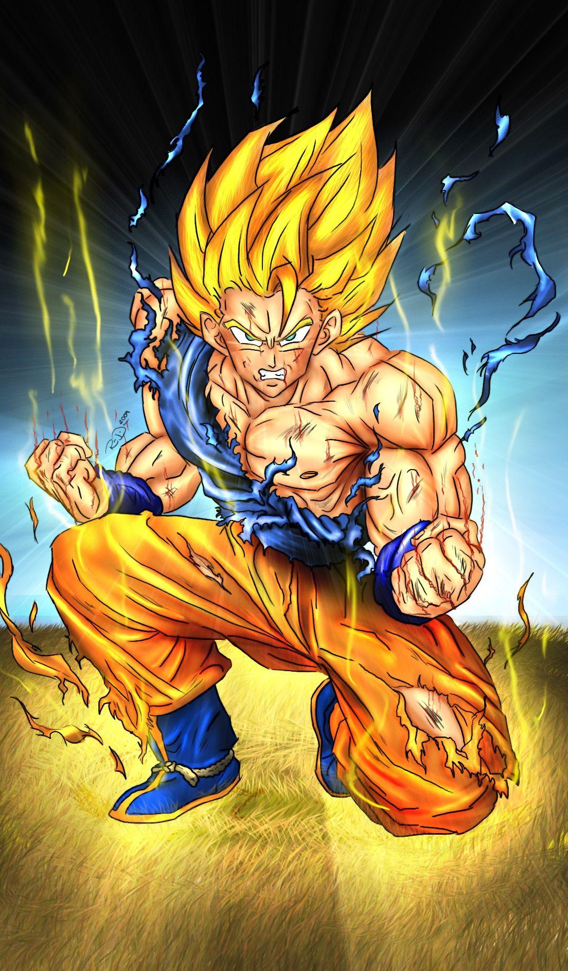 Super Saiyan Goku Dragon Ball Son goku dragon ball super saiyan