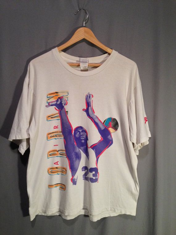 ed9b6c5e42bfd6 VTG 90s Michael Jordan Air Jordan Nike T Shirt by boobooretro ...