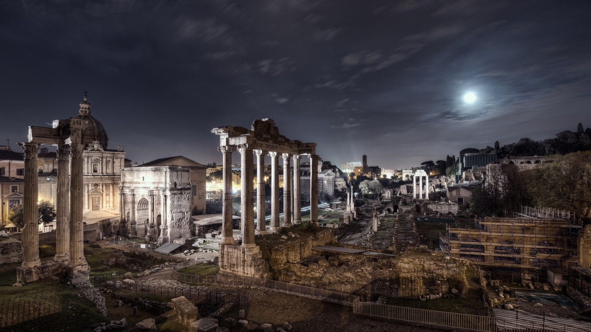 Image result for Ancient Roman Night sky