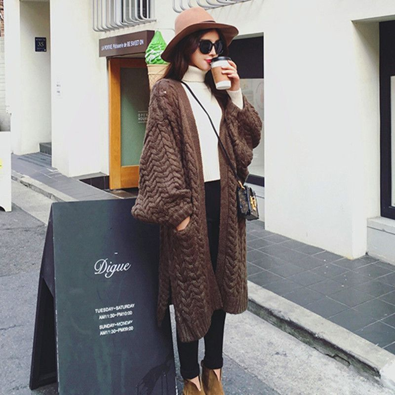 Find More Cardigans Information about Winter Coarse Wool Oversized Sweaters Long Cardigan Women Coat Pull Femme Lantern Sleeeve Korean Cardigan Knitted Sweater Poncho,High Quality sweater poncho,China korean cardigan Suppliers, Cheap long cardigan from Amor's Clothing Store on Aliexpress.com