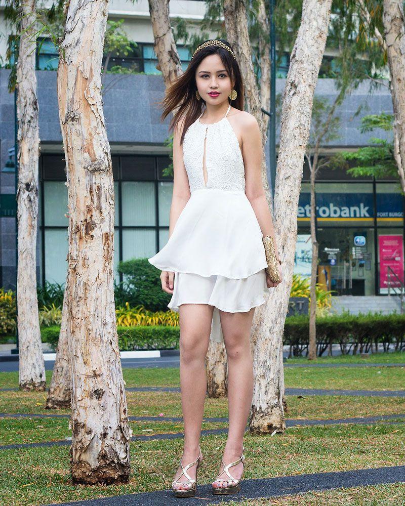 white dress philippines