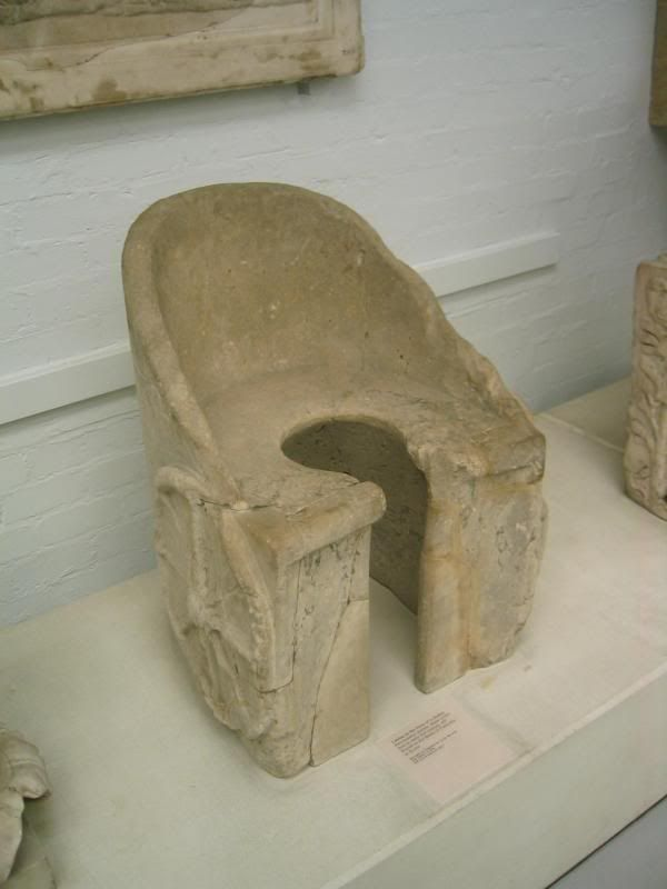 An Ancient Roman Toilet History Plumbing
