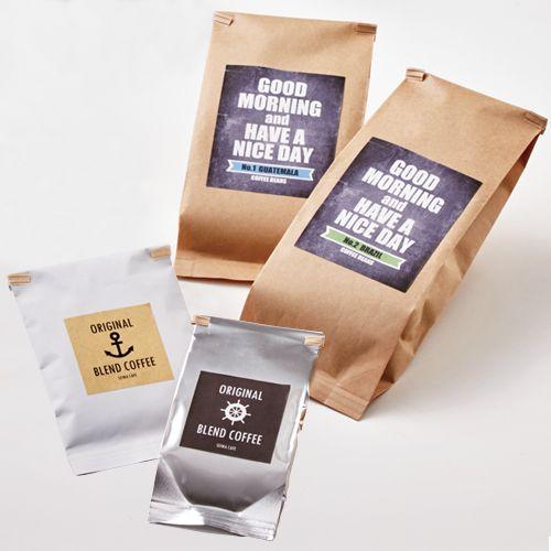 コーヒーパッケージ 便利なクラフトワイヤー パッケージデザインnet パッケージデザイン コーヒー コーヒーギフト
