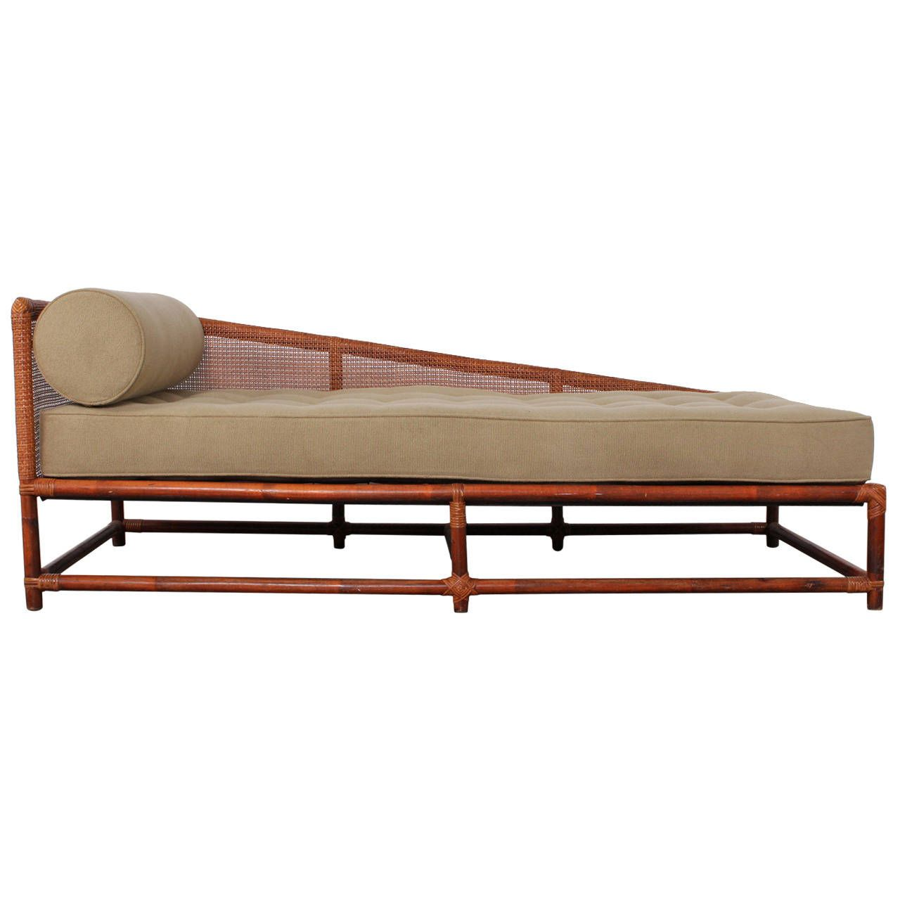 cane sofa bed leather world birmingham reviews daybed by tommi parzinger for willow and reed