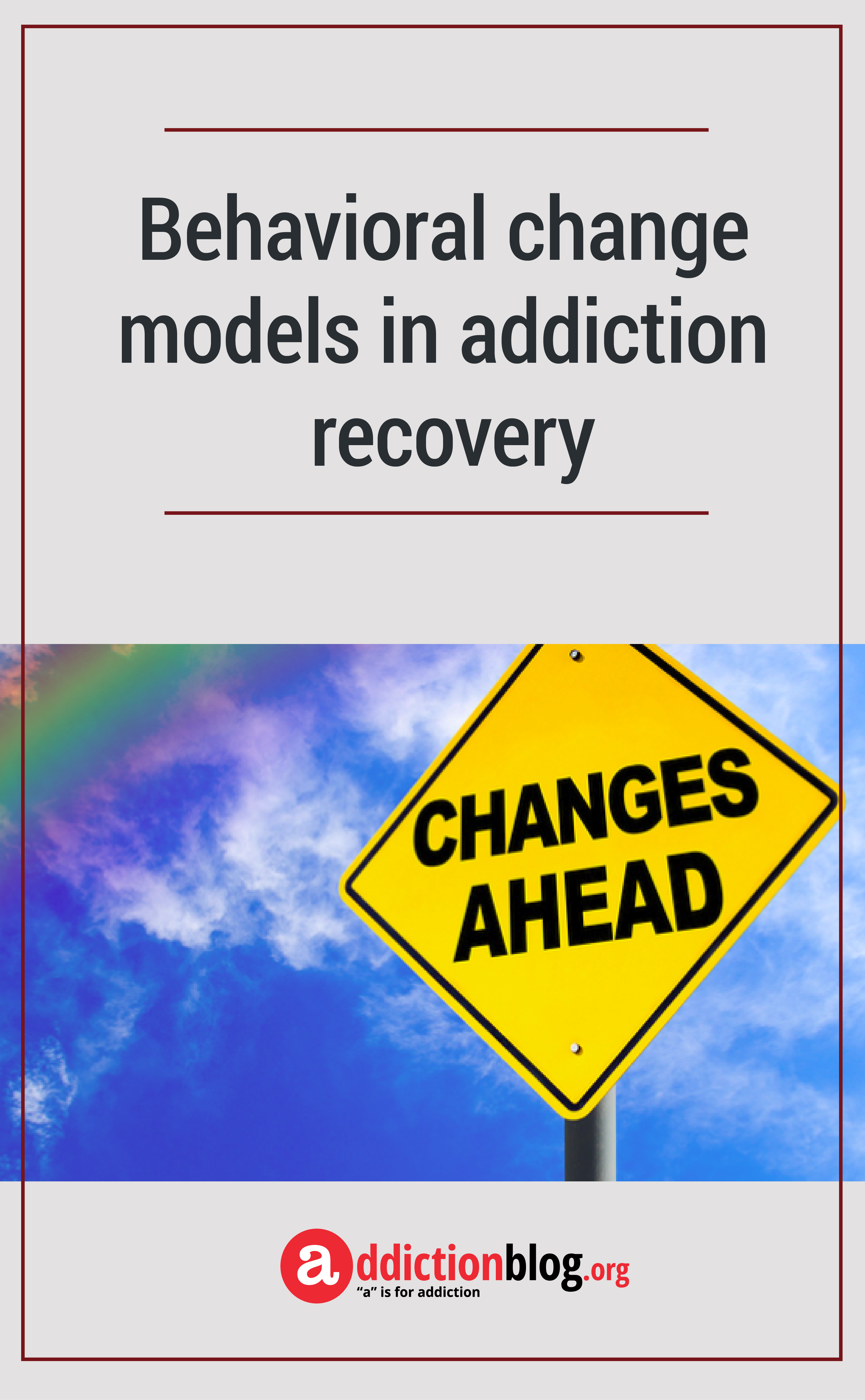behavioral model of addiction