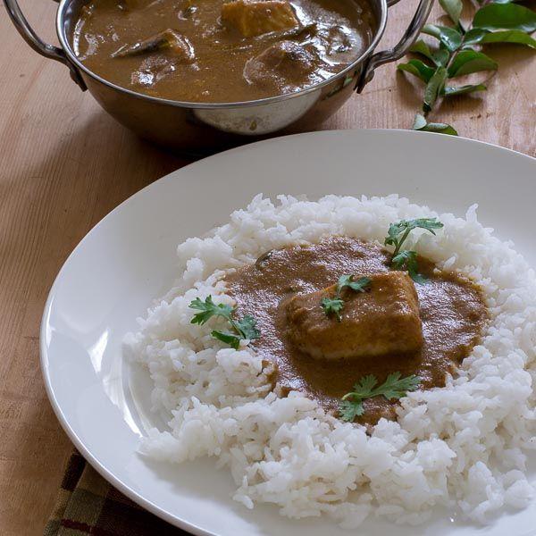 True authentic Tamilnadu Chettinad vanjaram Meen Kuzhambu/fish curry recipe from a karaikudi kitchen with step by step pictures.
