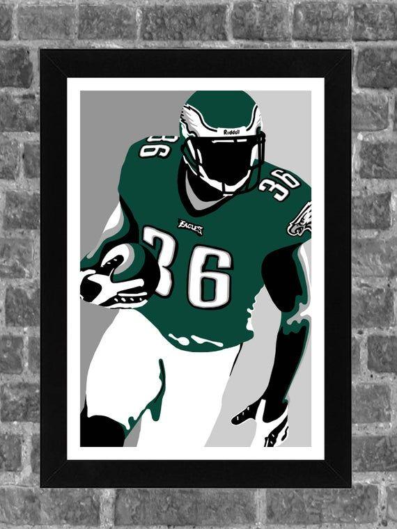 Philadelphia Brian Westbrook Sports Print Art 11x17