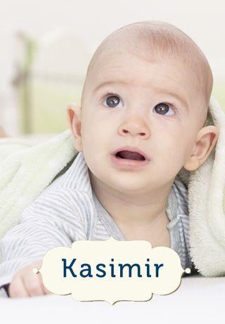Seltene Jungennamen: Kasimir -