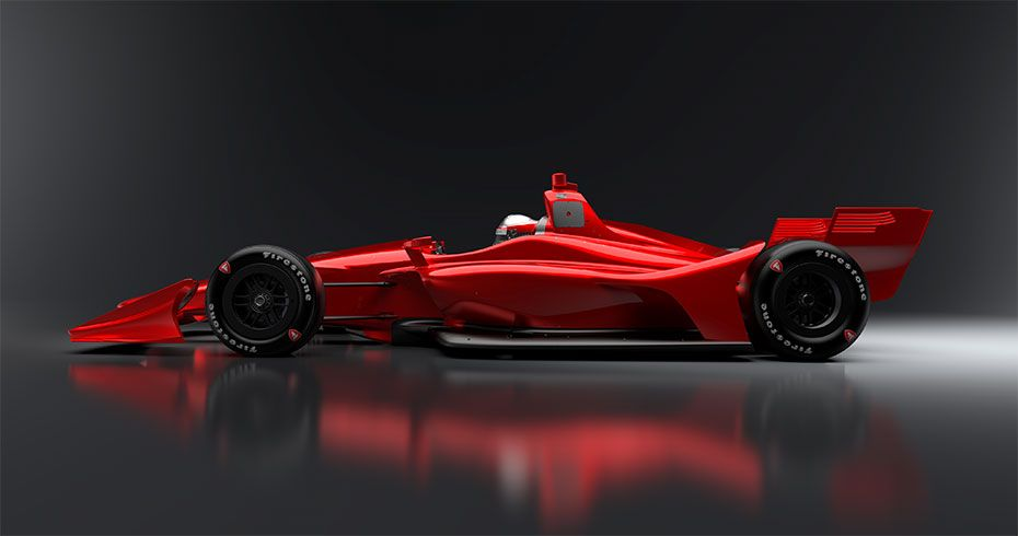New 2018 Aero Kit Concept Rendering Indy Cars Indy Car Racing Indycar Series