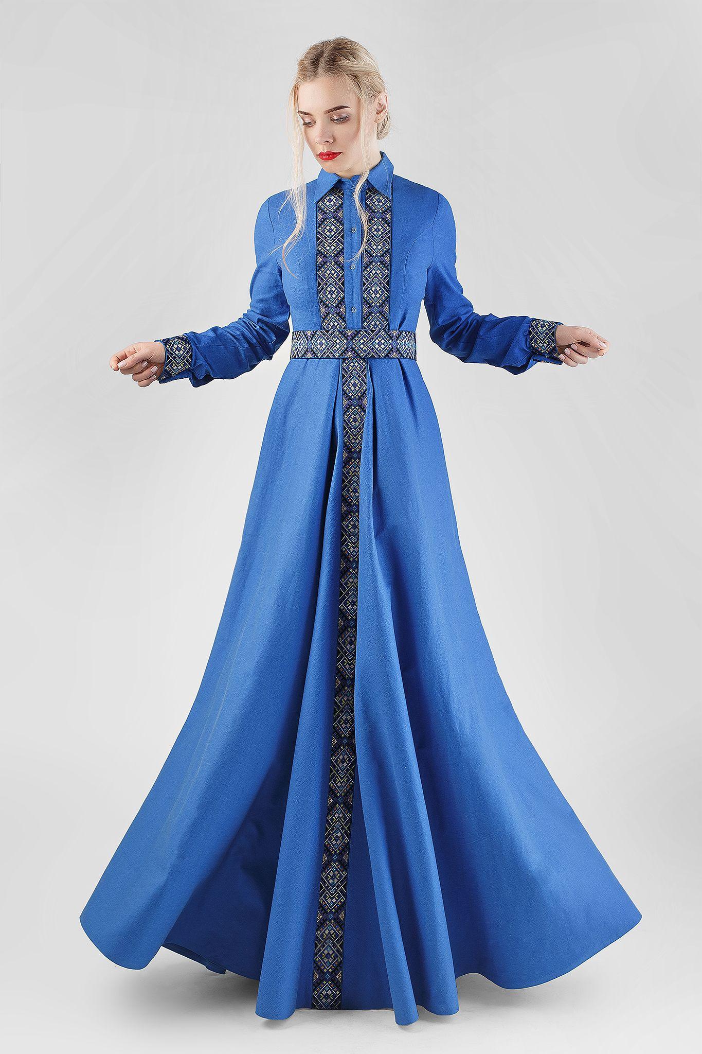 Сукня hrwdr унікальний вишитий одяг від студії