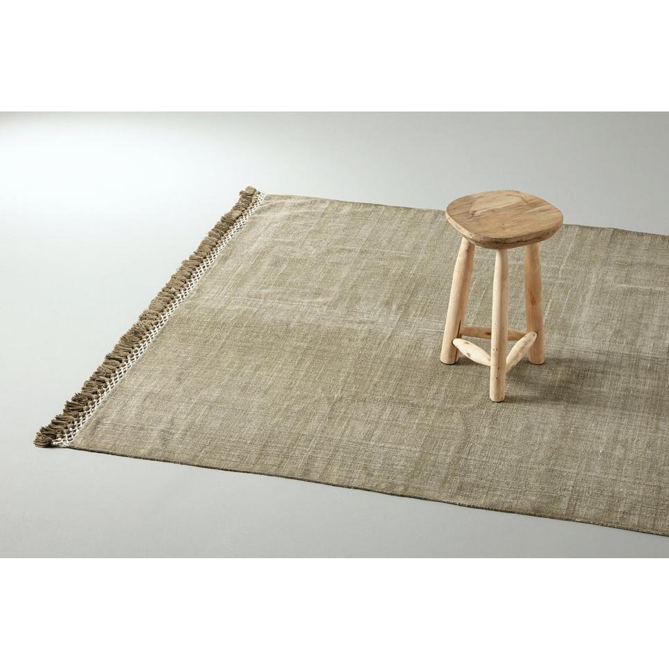 AAI made with love vloerkleed (140x200 cm), Bruin/groen - woonkamer ...