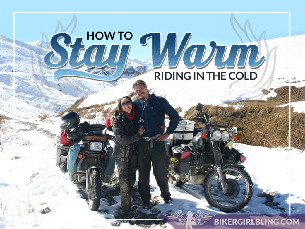 Motorcycle Riding In Cold Weather How To Keep Warm And Toasty