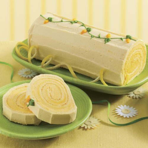 Lemon Log from The Swiss Colony: Our mouth-watering Lemon Log is hand-crafted, hand rolled and hand-decorated. www.swisscolony.com